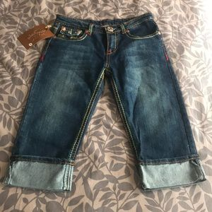 True Religion Crop Jeans